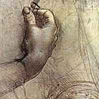 Silverstift har använts sedan antiken. På ett grunderat papper skapar silverstiftet en distinkt men svag linje med en gråsvart ton som med tiden oxideras och blir brunsvart. Leonardo da Vinci använde ofta silverstift till sina teckningar.
