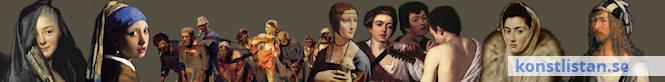 Konsthistoria genom länkar till allt från grottmålningar, romersk konst, medeltid, renässans, barock, romantik, realism, impressionism till samtidskonst.